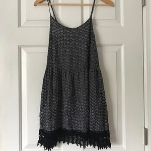 Urban Outfitters mini dress with lace detail